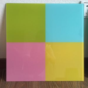 Good Quality Tempered Silkscreen Printing Glass Kitchen Splashbacks with AS/NZS2208: 1996, BS6206, En12150 pictures & photos