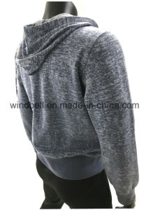 Comfortable Leisure Hoody for Men with Burn-out pictures & photos