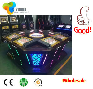 "32"" Wheel Slot Coin Operated Gambling Machine Roulette Table for Sale"