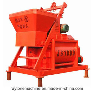 Js1000 Concrete Mixer Cement Mixing Machine pictures & photos