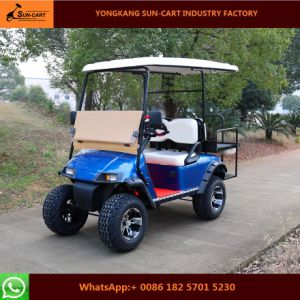 Four Passenger Electric Hunting Golf Cart (folding windshield)