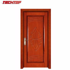 Superb Tpw 070 China Carving Wooden Single Main Entrance Door Design