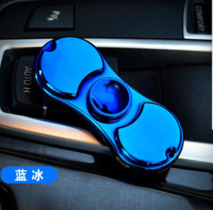 2017 Newest 2 in 1 Electronic USB Charging Windproof Hand Finger Spinner for Lighter