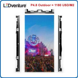 P3.91mm P4.81mm Outdoor LED Display for Rental Events