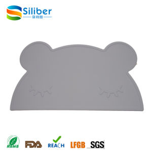 Wholesale Good Quality FDA Silicone Placemat with Bowl for Baby