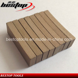 Marble Diamond Cutting Teeth for Saw Blade Wet Cutting Segment pictures & photos