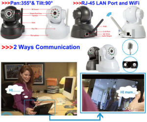 Wireless Mini IP PT Web Camera From CCTV Cameras Suppliers pictures & photos