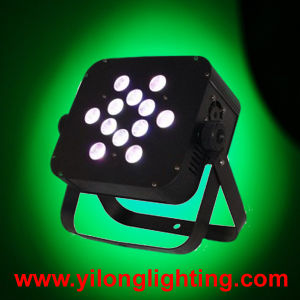12PCS Rgbaw Flat Housing Wireless 6in1 LED PAR Light