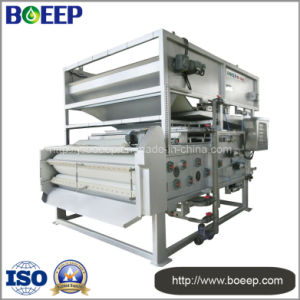 Food Processing Wastewater Treatment Belt Filter Press Sludge Dewatering Machine pictures & photos