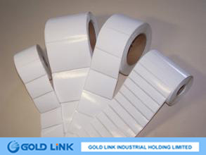 Adhesive Direct Thermal Paper Sticker
