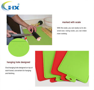 100% Scale Cutting Board with Silicone Chopping Mat for Kitchen Utensils and Tools