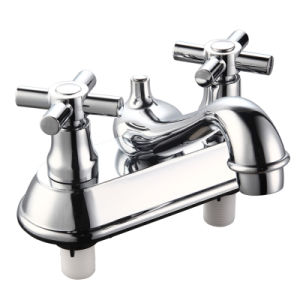 Plastic Basin Faucet with Two Handle (JY-1051) pictures & photos