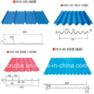 Colored Galvanized Corrugated Steel Plate Roofing Sheet pictures & photos