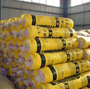 Fiber Fabric Glass Wool with Aluminium Foil for Insulation Material pictures & photos