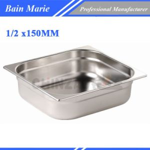 Gastronorm Pan/Stainless Steel 1/2 Gastronorm Container Gn Pan/ Food Container 1206A pictures & photos