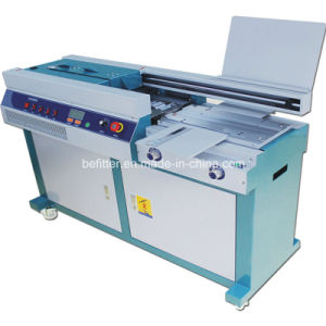 55h-A3 A3 Hot Melt Glue Perfect Binding Machine pictures & photos