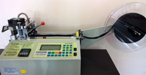 Automatic Belt Cutting Machine (Hot and Cold Knife) pictures & photos