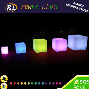 LED Outdoor Light up Bar Stool LED Cube Stool pictures & photos