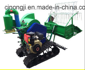 4LZ-0.8/1.0 Rice and Wheat Combine Harvester pictures & photos