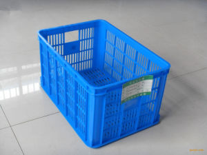 Large Quantity of Production Plastic Injection Turnover Basket Moulding Making Machine pictures & photos