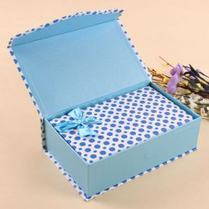 Printed Paper Gift Box with Robbin for Cosmetics pictures & photos