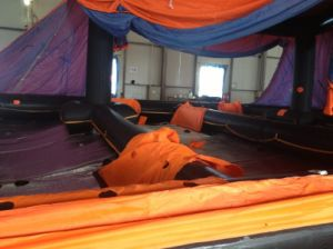 Solas Self-Righting Inflatable Life Raft, Throw-Overboard Life Raft pictures & photos