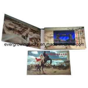 Advertisement LCD Screen Video Book pictures & photos