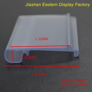 Clear PVC Extrusion Profile (DS-1035) pictures & photos