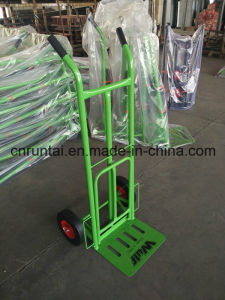 Hot Sale Qingdao Made Beauty Strong Cheap Handtruck (HT1827) pictures & photos