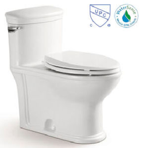 Water Saving Cupc Siphonic One-Piece Toilet Ce-T2195m pictures & photos