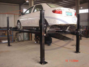 Wld-Qjy435A 4 Post Lift Auto Car Lift pictures & photos