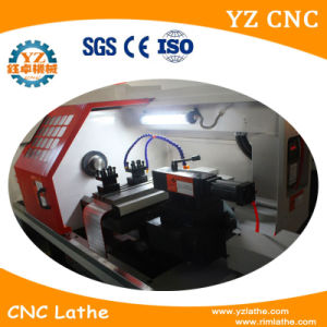 Mini Metal Horizontal CNC Lathe Machine pictures & photos
