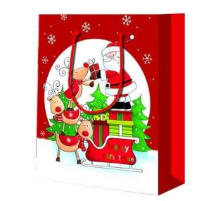 Paper Christmas Promotion Gift Shopping Bag pictures & photos
