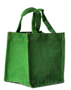 Eco Jute Bag with PE Lamination (hbjh-3) pictures & photos