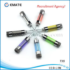 Hot Selling Changeable Coil T3s Clearomizer (T3S)
