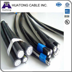Duplex Service Drop with 0.6/1kv, XLPE Insulation One Phase Cable pictures & photos
