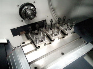 CNC Lathe Machine Automatic Lathe Jd26 pictures & photos