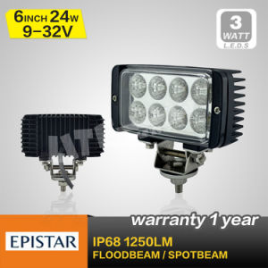 3W Epistar Chip 24W LED Work Light (SM 651)