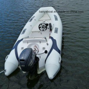 Liya 3.8m Inflatable Rubber Boat Rigid Hull Inflatable Boat for Sale pictures & photos