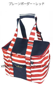 Picnic Ice Cooler Lunch Bag for Travel Japan Style pictures & photos
