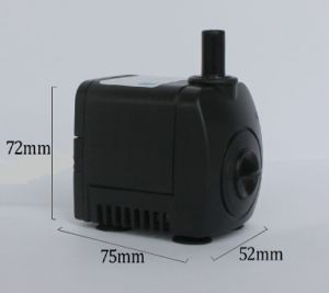 Submersible Fountain Garden Pond DC Pump (HL-800) Submersible Pump Pipe pictures & photos