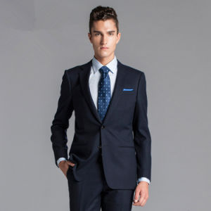 New Italian Fashion Style Men′s Business Suit pictures & photos