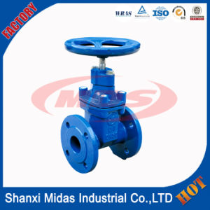 50mm Ductile Cast Iron Ggg50 Manual Slide DIN 3355 F5 Metal Seated Gate Valve Pn16 pictures & photos