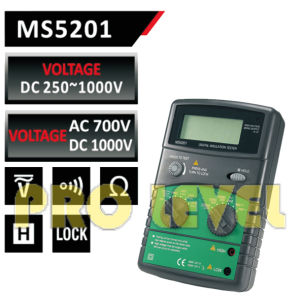 High Voltage Electrical Equipment Digital Insulation Tester (MS5201) pictures & photos