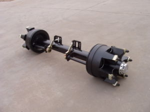 Spokes Semi-Trailer Axle Square Beam Trailer Parts pictures & photos