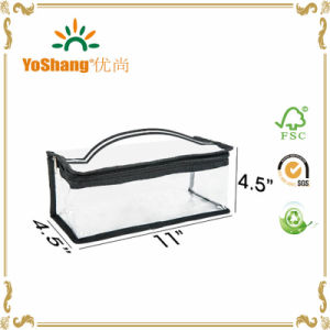 2016 Easy Carrying Professional Clear PVC Waterproof Travel Cosmetic Makeup Bag pictures & photos
