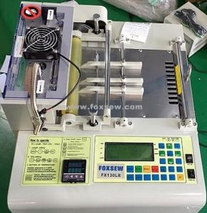 Automatic Heavy Duty Webbing Cutting Machine Hot and Cold Knife pictures & photos