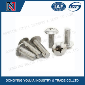 TM Stainless Steel Cross Recessed Round Head Screw pictures & photos
