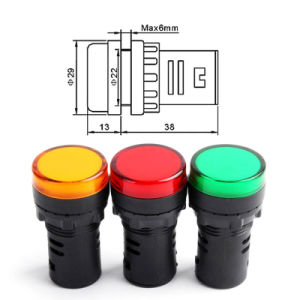 Utl Single Color LED Indicator Light pictures & photos
