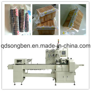 on Edge Biscuit Packing Machine with Feeder pictures & photos